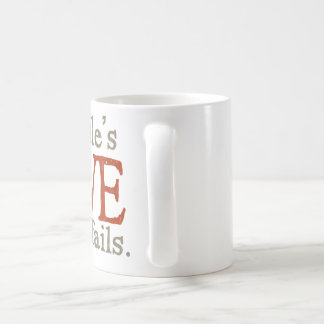 For the love of goldendoodles coffee mug