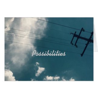 For the Love of Life : Possibilities Greeting Card
