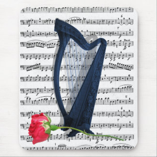 For the love of music... mouse pad