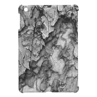 For the Love of Nature - Black & White Bark iPad Mini Cover