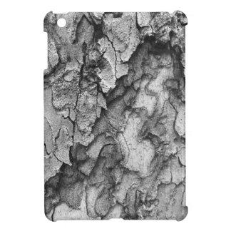 For the Love of Nature - Black & White Bark iPad Mini Cover