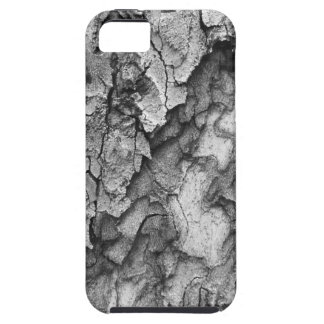 For the Love of Nature - Black & White Bark iPhone 5 Covers