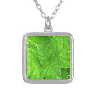 For the Love of Nature Silver Plated Necklace