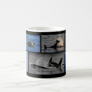 For the Love of Orcas Mug