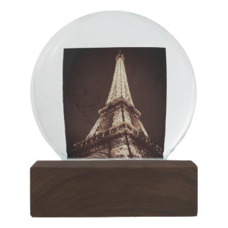 For the Love of Paris - Eiffel Tower Snowglobe