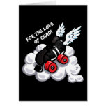 For the love of quad greeting card