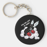 For the love of quad! key chain