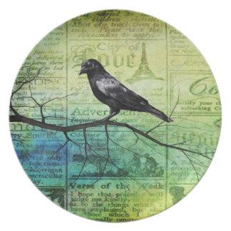 For the love of Ravens Dinner Plate