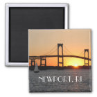For the Love of Rhode Island Magnet