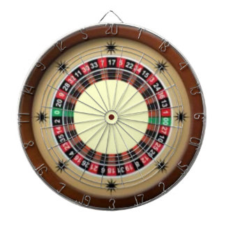 For The Love of Roulette Dart Board