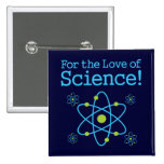 For The Love Of Science Atom Button