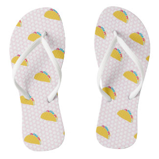 For the Love of Tacos - Flip Flops
