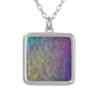 For the Love - Purple Geo Silver Plated Necklace