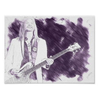 For the music lover (Bass Guitar) Poster