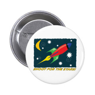 For The Stars! 6 Cm Round Badge