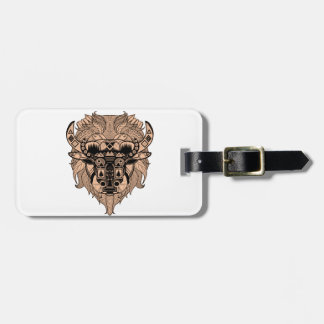 FOR THE TIME LUGGAGE TAG