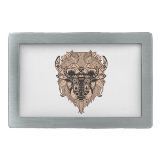 FOR THE TIME RECTANGULAR BELT BUCKLES