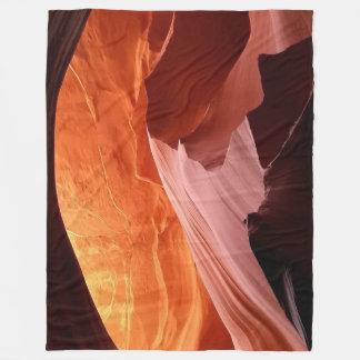 For the Traveler Fleece Blanket
