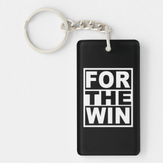 For the Win Key Ring