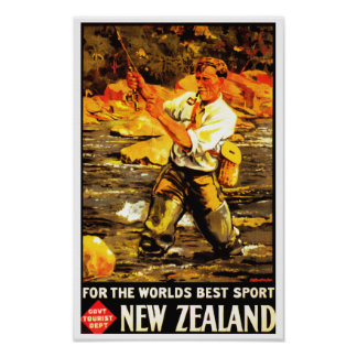 For The World's Best Sport ~ New Zealand Poster