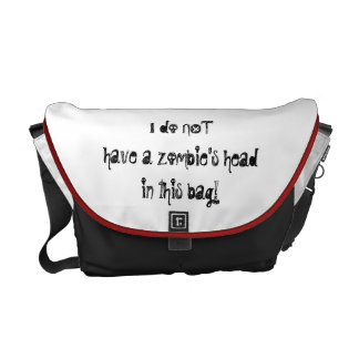 For the Zombie Hunter in your life! Messenger Bags