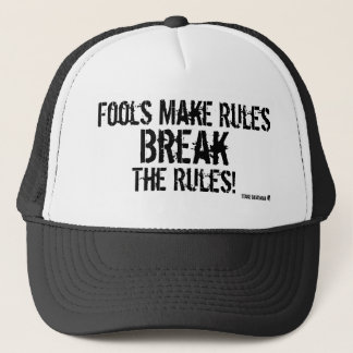 For Those Who Reject Authority Trucker Hat