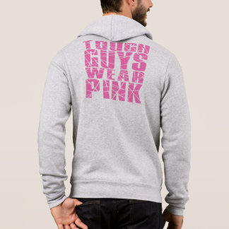 For Tough Guys Breast Cancer Awareness Hoodie
