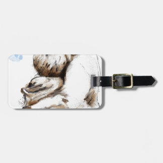 For What does love ask Luggage Tag