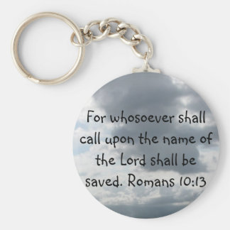 For whosoever shall call upon the name of the Lord Key Ring