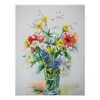 For You Bouquet Print