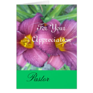 For Your Appreciation Greeting Card