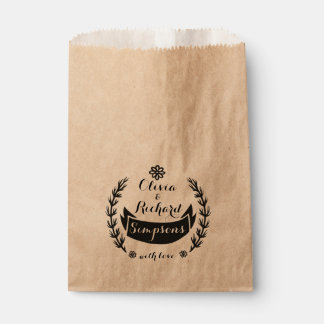 For your friends with love favour bags