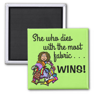 For your Quilter Square Magnet