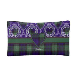 Forbes clan Plaid Scottish tartan Cosmetic Bag