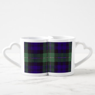 Forbes clan Plaid Scottish tartan Coffee Mug Set