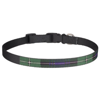 Forbes clan Plaid Scottish tartan Pet Collar