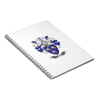 Forbes Family Crest Coat of Arms Notebook