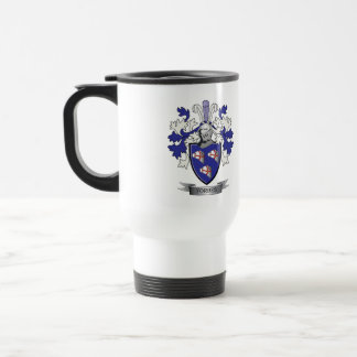 Forbes Family Crest Coat of Arms Travel Mug