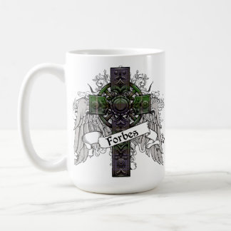 Forbes Tartan Cross Coffee Mug