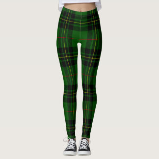 Forbes tartan plaid leggings