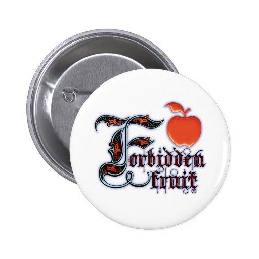 Forbidden Pinback Buttons