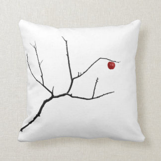 Forbidden by Leslie Peppers ~ Japanese Art Throw Pillow