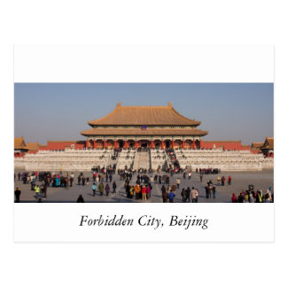 Forbidden City, Beijing Postcard