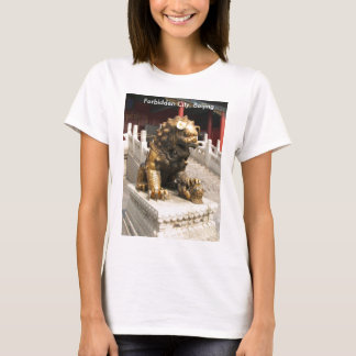 Forbidden City Bronze Lion T-Shirt