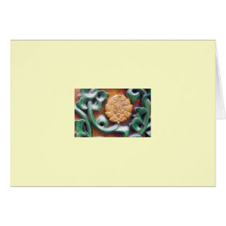 """Forbidden City Detail #1"" Card"