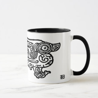 Forbidden City Dragon 11oz combo mug