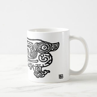Forbidden City Dragon 11oz mug