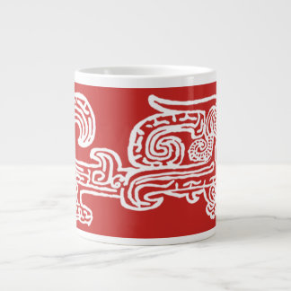 Forbidden City Dragon 20oz inverse print mug