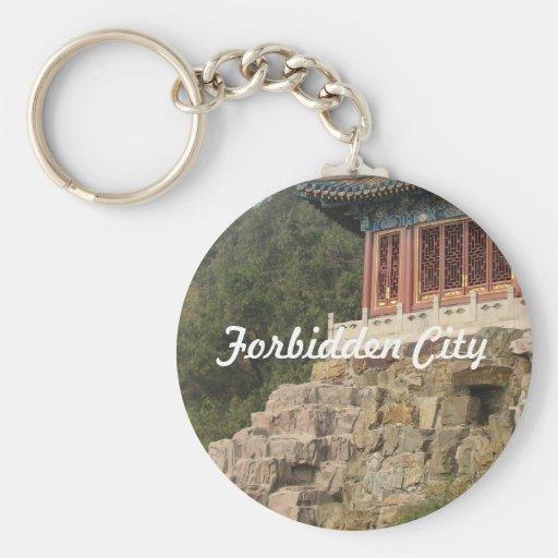 Forbidden City Keychain