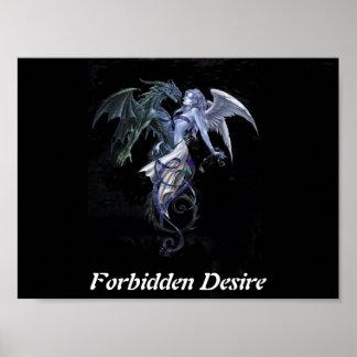 Forbidden Desire - Portfilio Poster